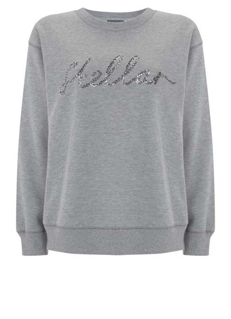 Silver Grey Stellar Sweat