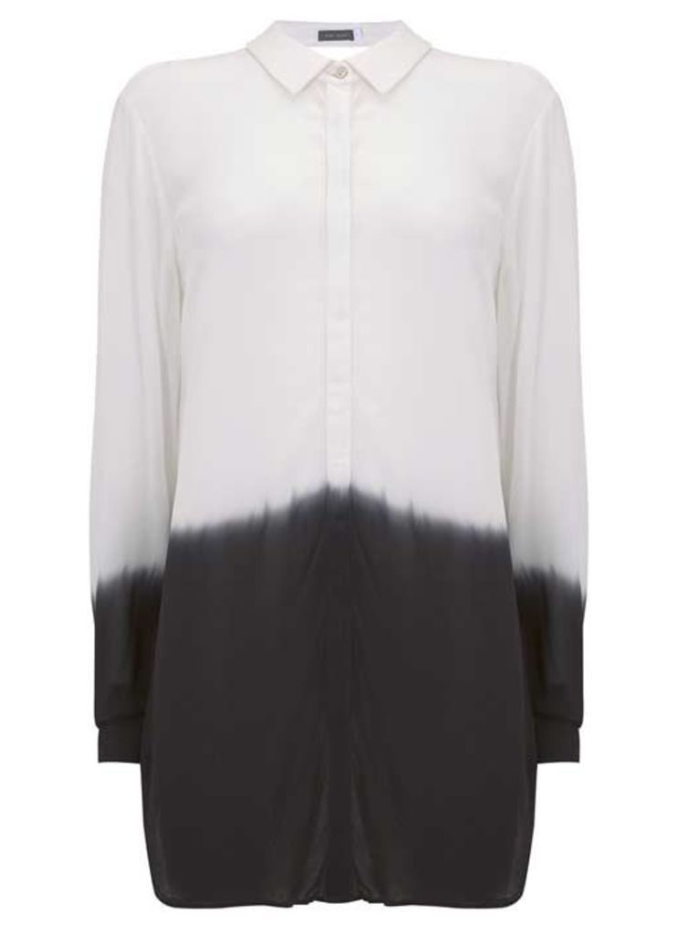 Ink Ombre Longline Shirt
