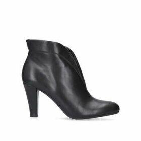 Carvela Comfort Rida - Black Mid Heel Ankle Boots