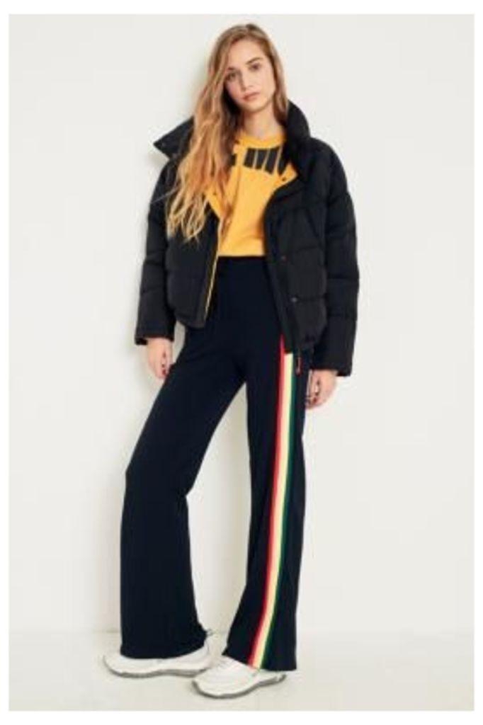 BDG Puddle Rainbow Stripe Sweatpants, Black
