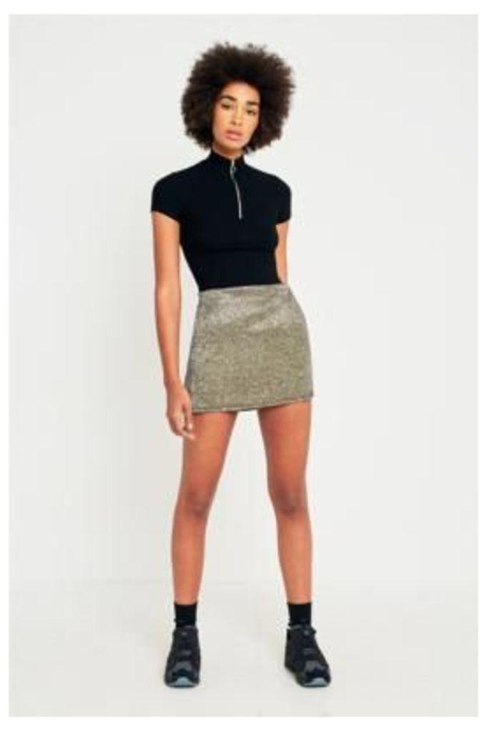 Pins & Needles Shimmer Moon Pelmet Skirt, Blue