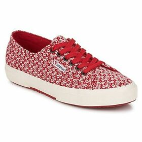 Superga  2750 FANTASY  women's Shoes (Trainers) in Red