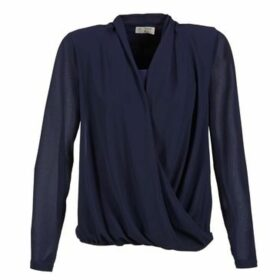 Betty London  EDRAPE  women's Blouse in Blue