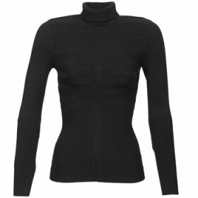 Morgan  MENTOS  women's Sweater in Black