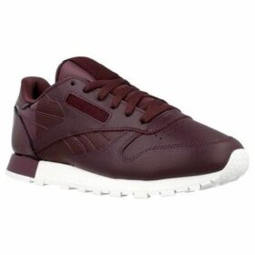 Reebok Sport  CL Lthr  women's Shoes (Trainers) in multicolour