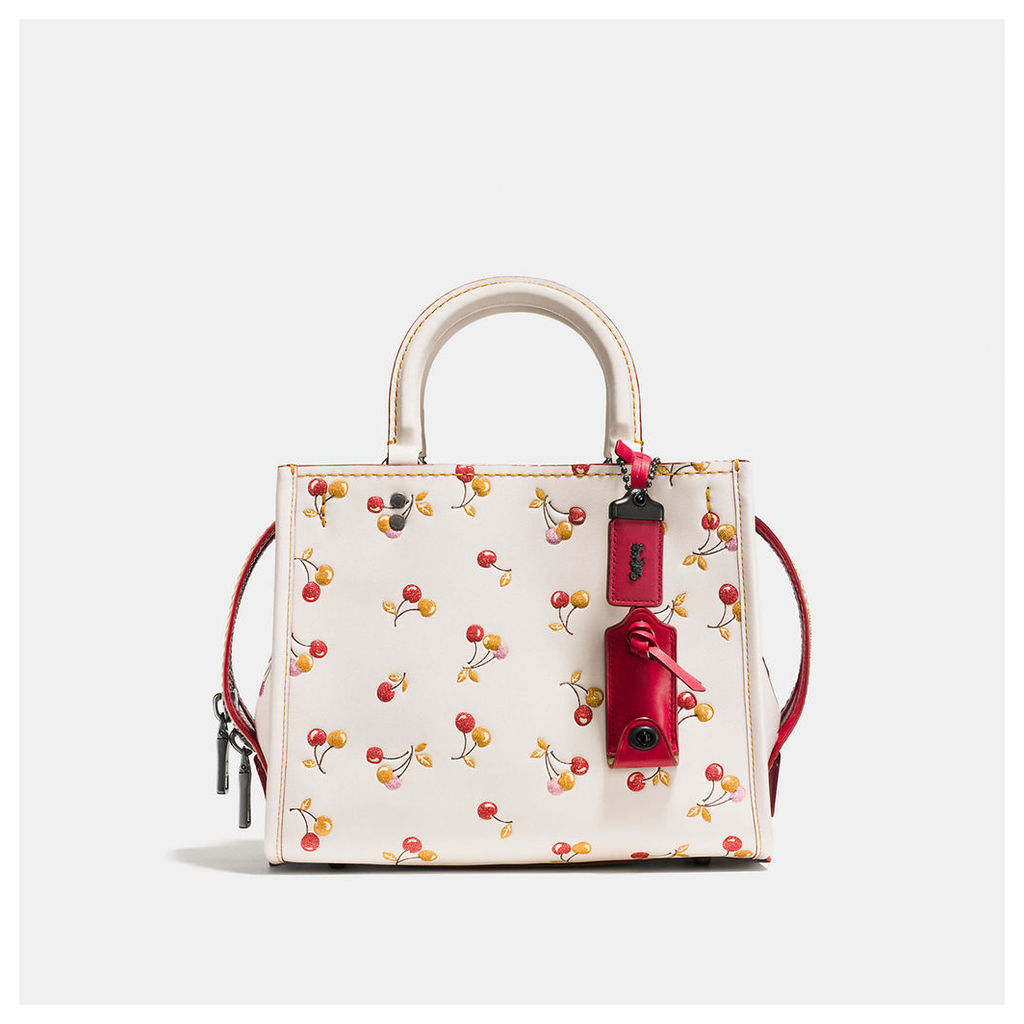 Coach Rogue 25 With Cherry Print