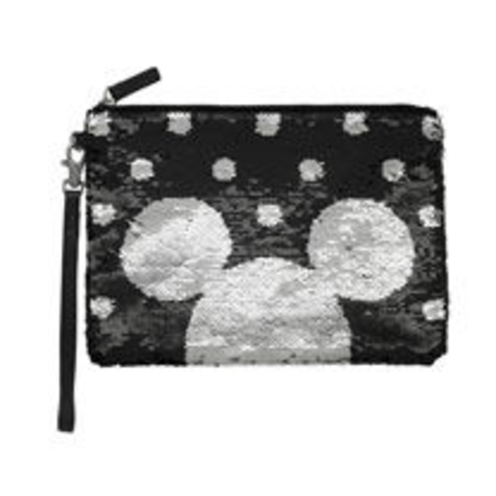 Mickey and Minnie Two-Way Sequin Pouch
