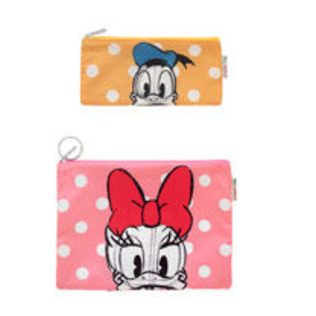 Mickey and Friends Set of Two Pouches