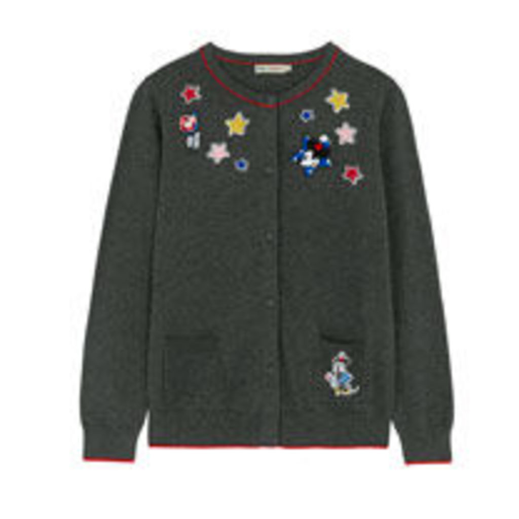 Mickey and Minnie Patches Cardigan