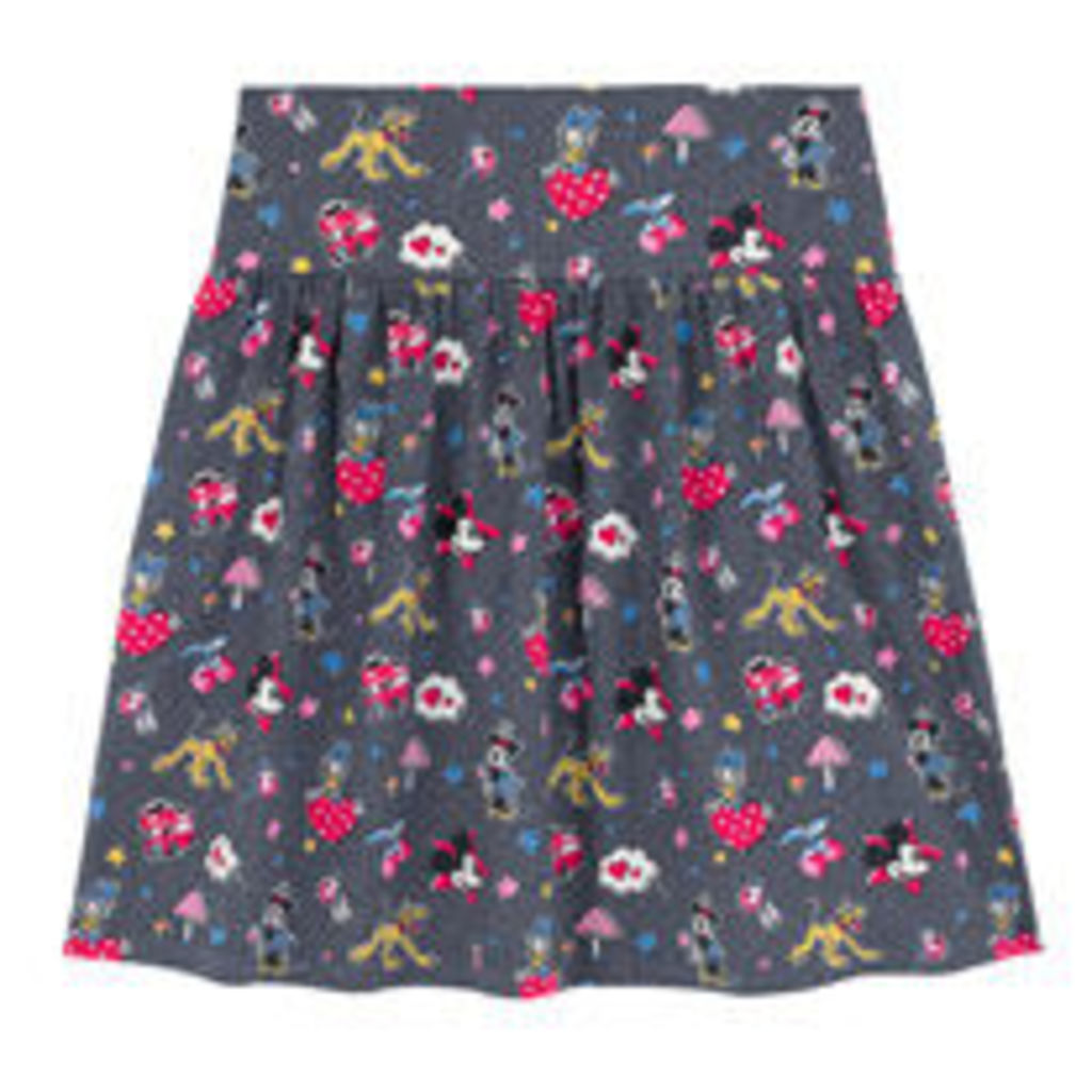 Mickey and Minnie Patches Jersey Skirt