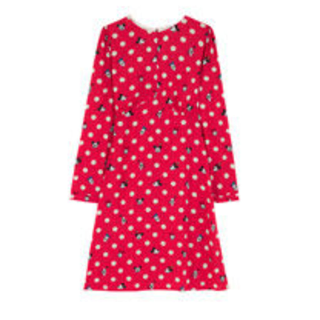 Mickey and Friends Button Spot Dress