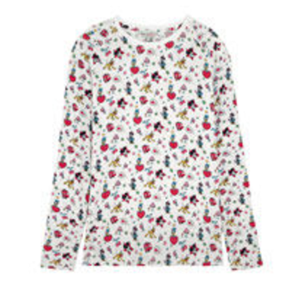 Mickey and Minnie Little Patches Jersey Top