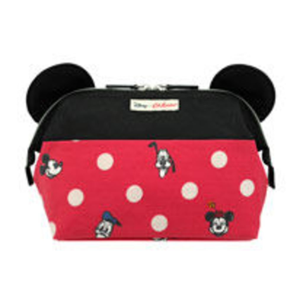 Mickey and Friends Button Spot Framed Washbag With Ears