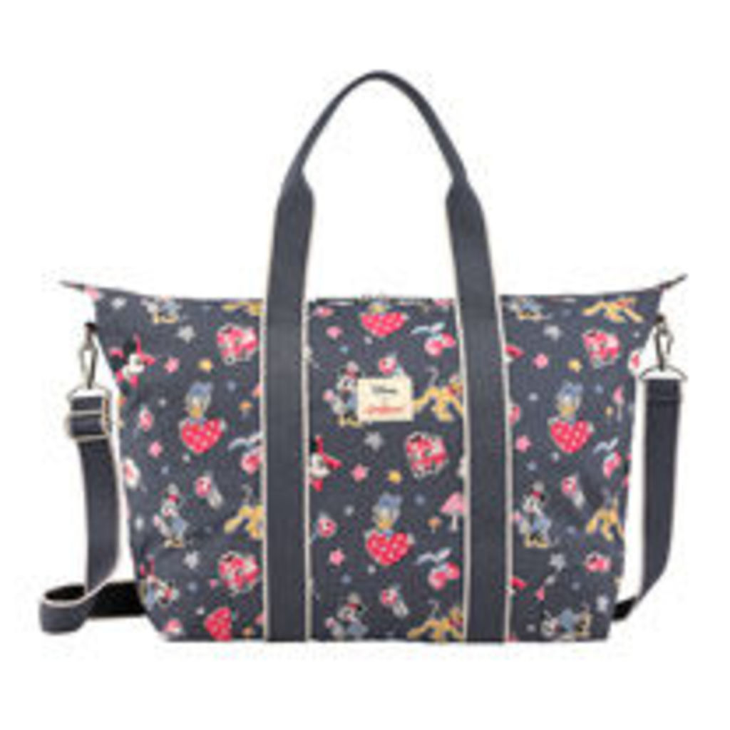 Mickey and Minnie Little Patches Foldaway Overnight Bag