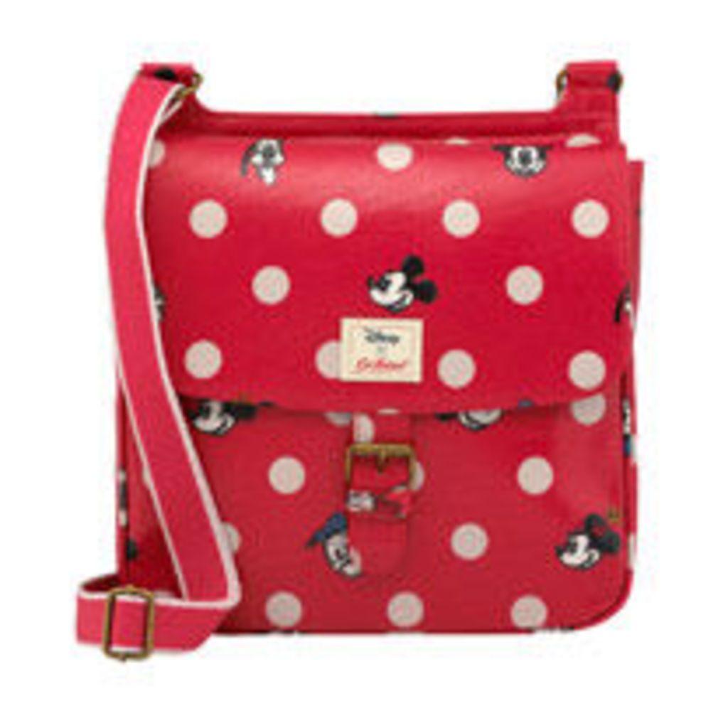 Mickey and Friends Button Spot Tab Saddle Bag