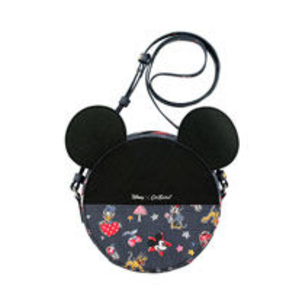 Mickey and Minnie Little Patches Mickey Round Bag