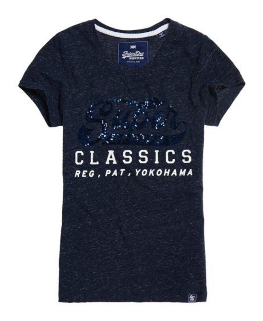 Superdry Classic Sequin T-Shirt