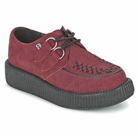 TUK  MONDO LO  women's Casual Shoes in Red