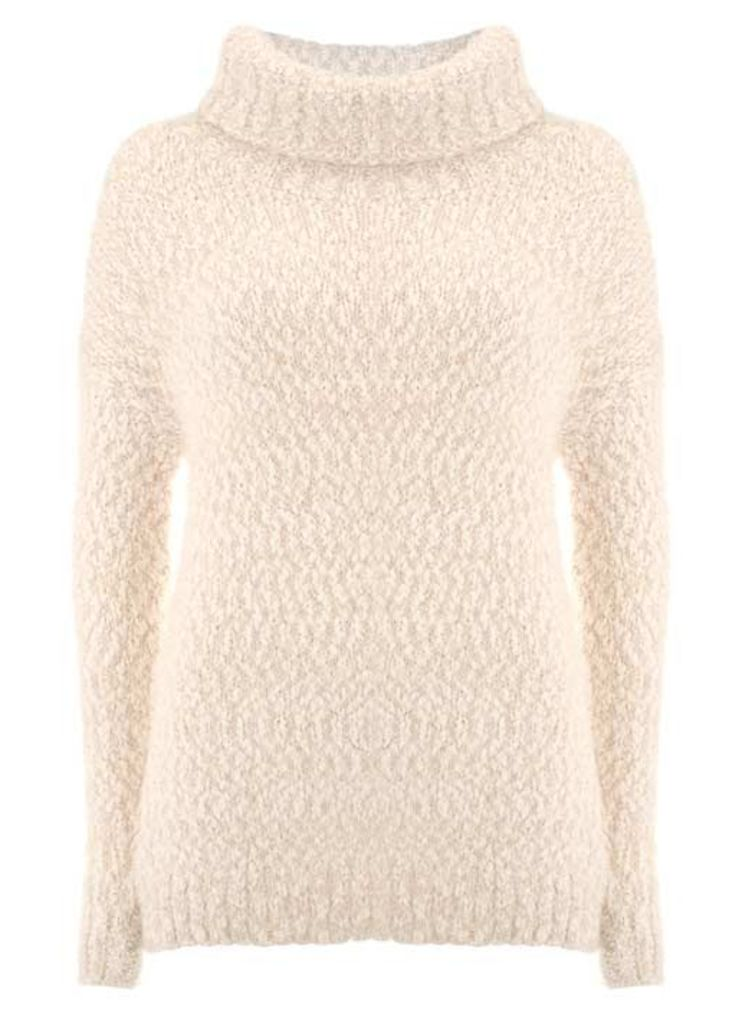 Winter White textured Knit