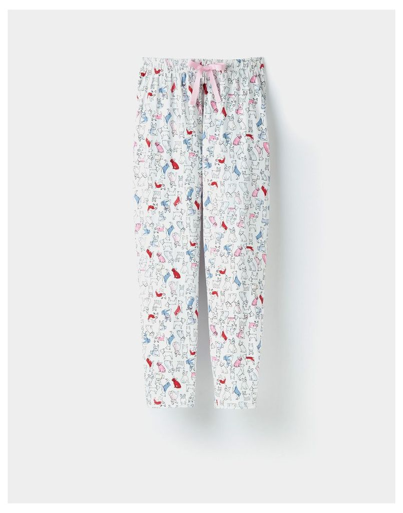 Dogs 124366 Womens Erica jersey pyjama bottom  Size 10 | Joules UK