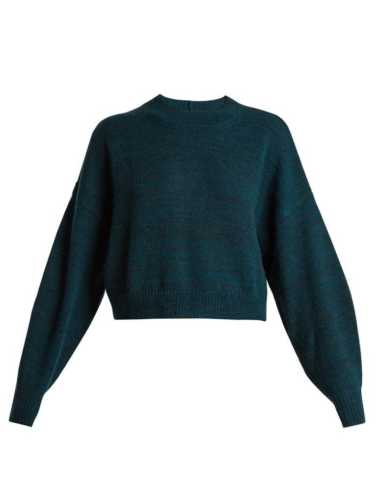 Rodd cropped alpaca-blend sweater