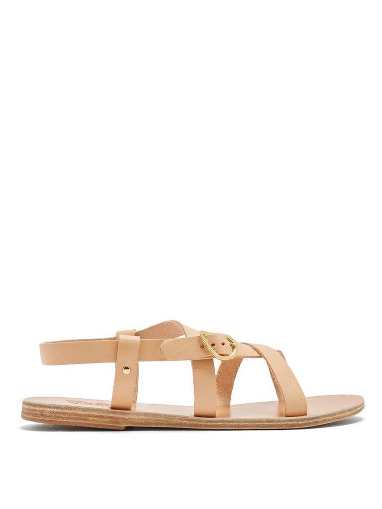 Ambrosia leather sandals