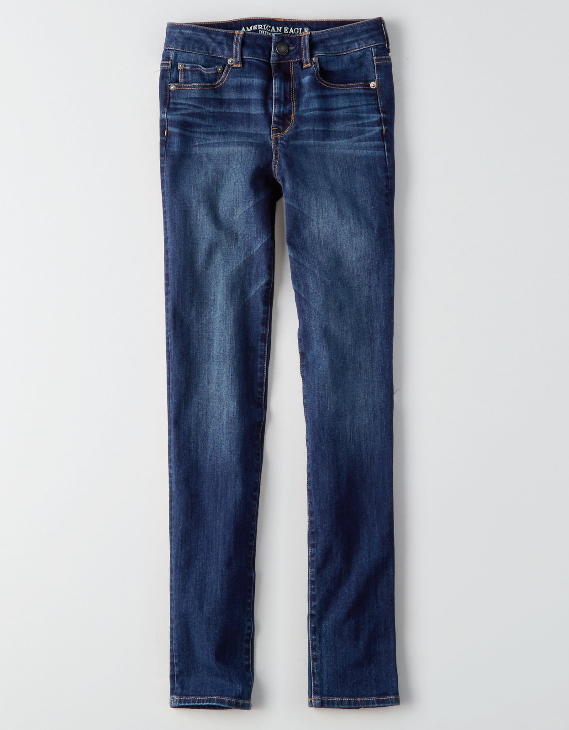 AE Denim X4 Hi-Rise Straight Jean