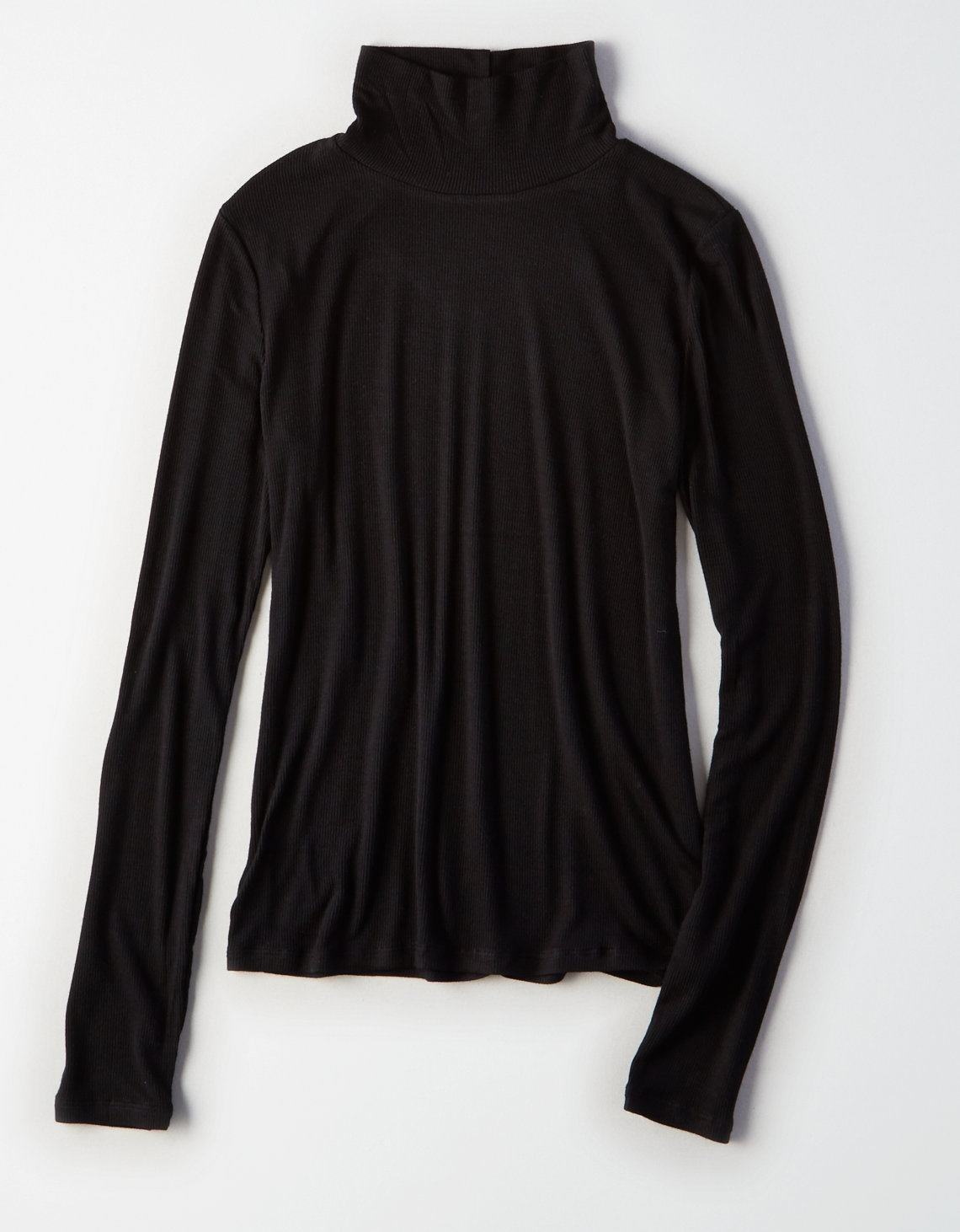 AE Soft & Sexy Ribbed Turtleneck