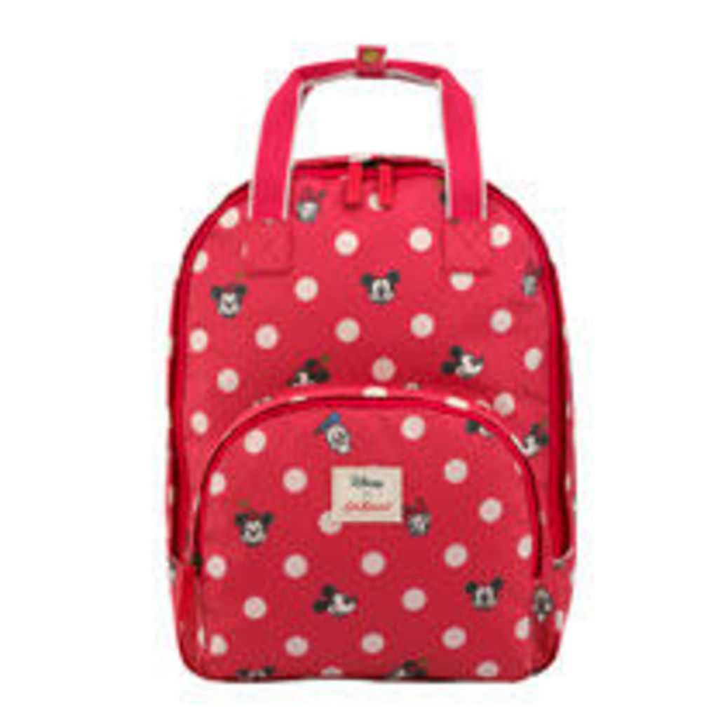 Mickey and Friends Button Spot Multi Pocket Backpack