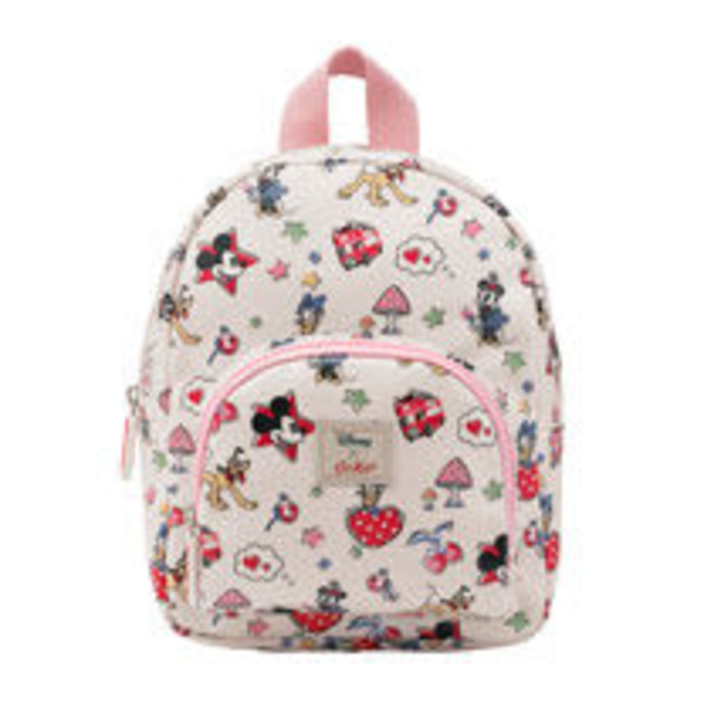 Mickey and Minnie Little Patches Mini Rucksack