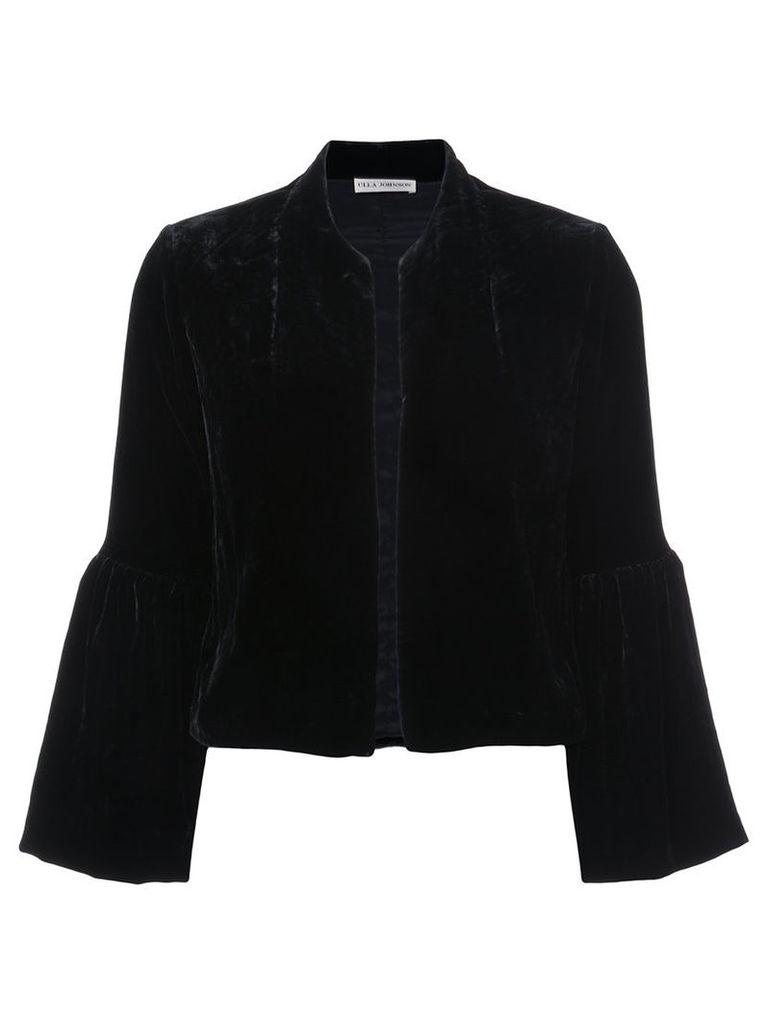 Ulla Johnson - Mara jacket - women - Silk/Polyester/Viscose - 0, Black