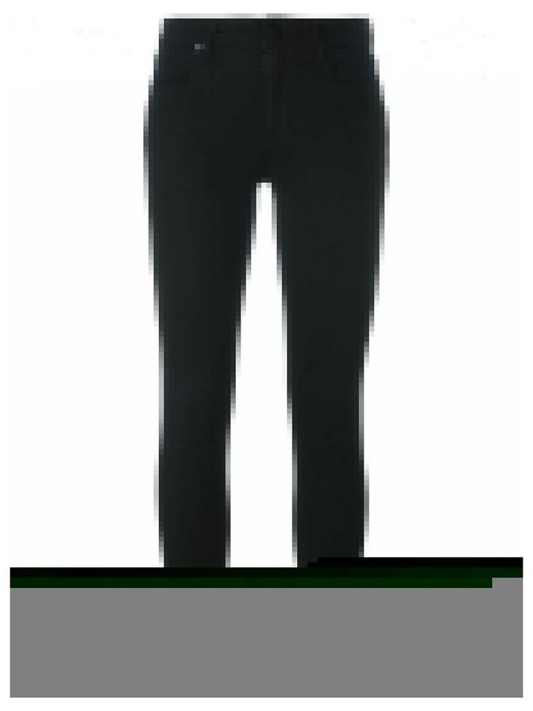 Alexander Wang - cropped skinny jeans - women - Cotton/Lyocell/Polyester/Spandex/Elastane - 25, Black
