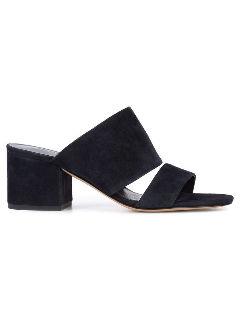 Vince - Charleen mules - women - Leather/Suede - 8, Blue