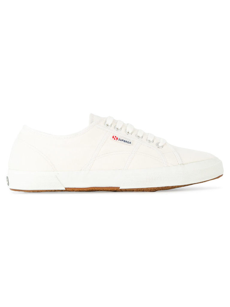 Superga - lace-up sneakers - unisex - Cotton/rubber - 37, White