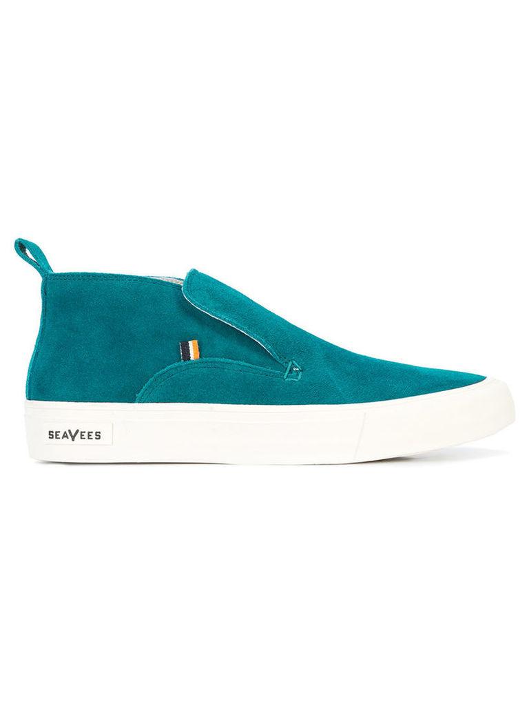 Derek Lam 10 Crosby - Huntington Middie sneakers - women - Suede/Leather/rubber - 8.5, Green