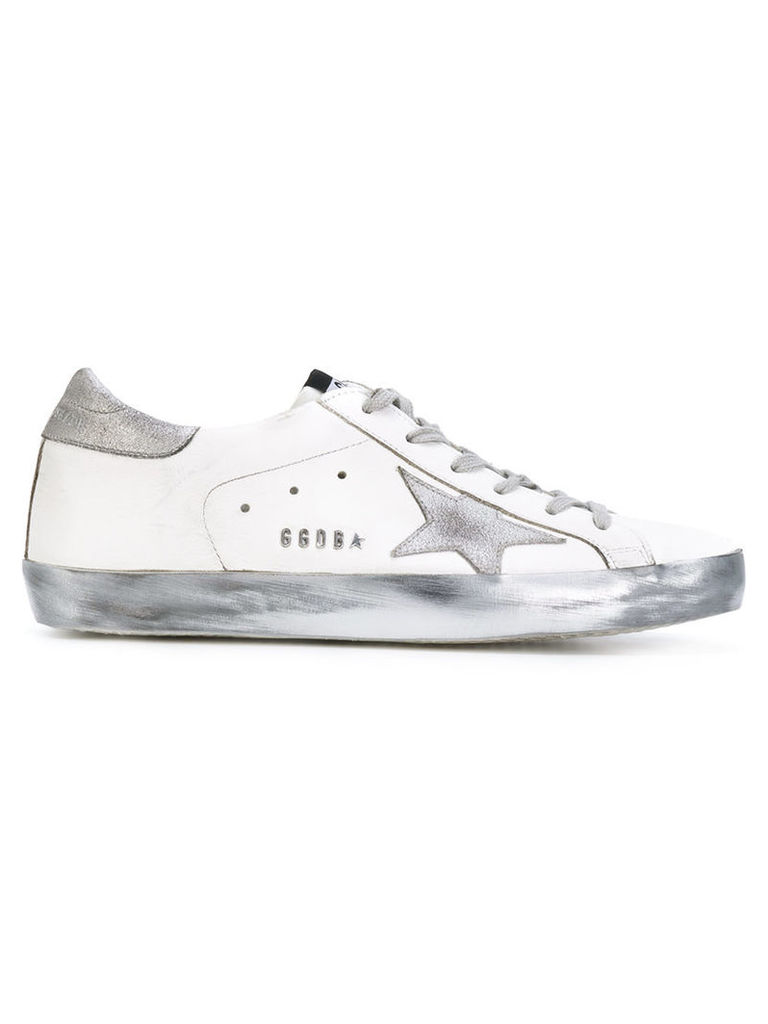 Golden Goose Deluxe Brand - Superstar sneakers - women - Cotton/Leather/rubber - 37, White