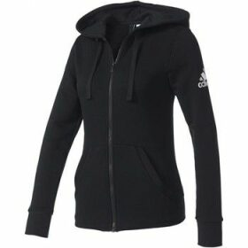 adidas  Essentials Solid Full Zip Hoodie W  women's Sweatshirt in Black