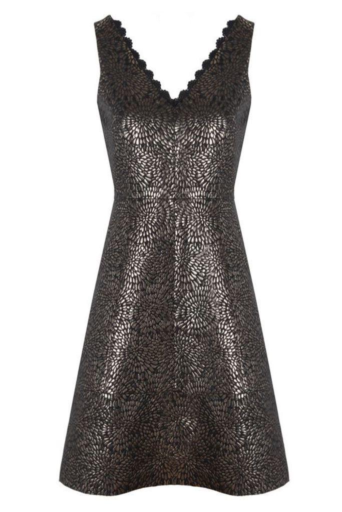 Maisy Jacquard Dress