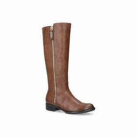 Womens Solea Comfort Toga Tan High Leg Bootssoleacomfort Fit, 3.5 UK