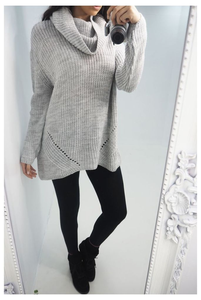 Nadia Roll Neck Knitted Jumper