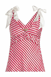 Maggie Marilyn The Diana Cami Striped Silk Top