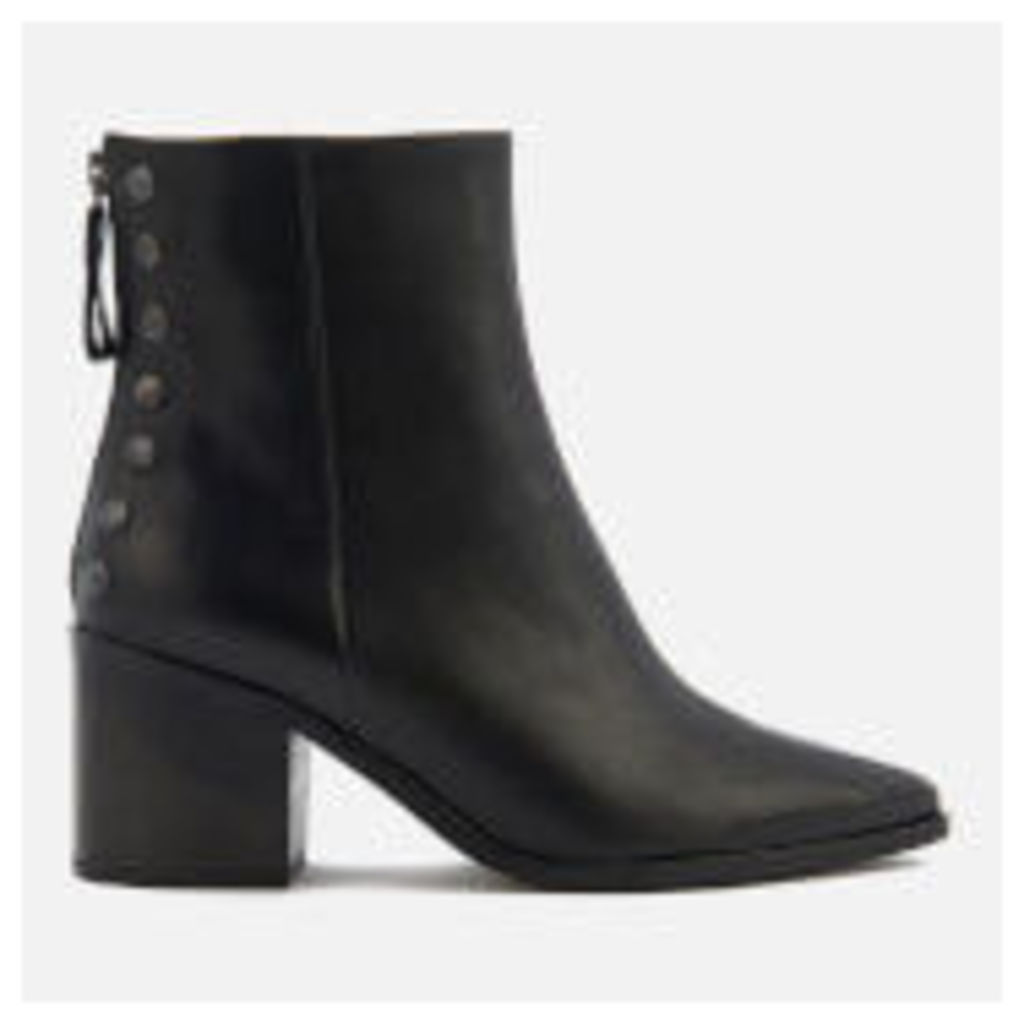 Carvela Women's Slight Leather Heeled Ankle Boots - Black