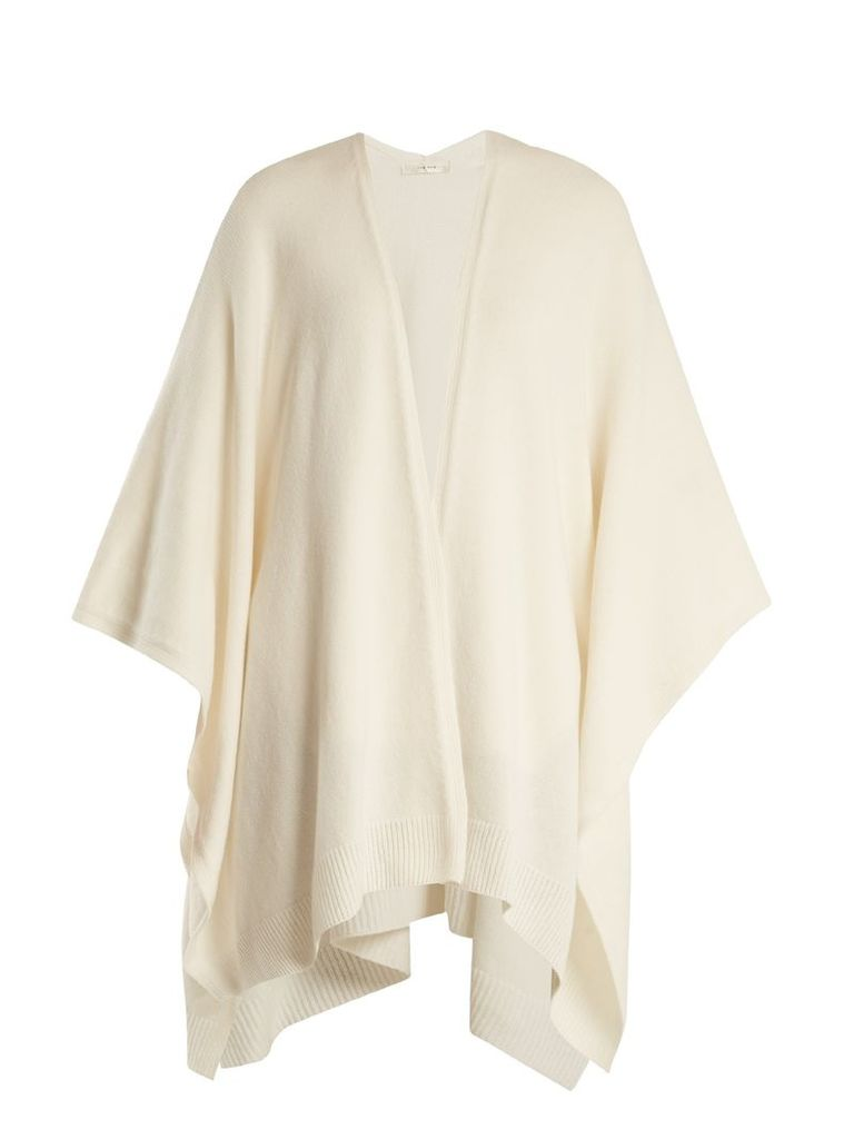 The Row - Hern Cashmere Cape - Womens - Ivory