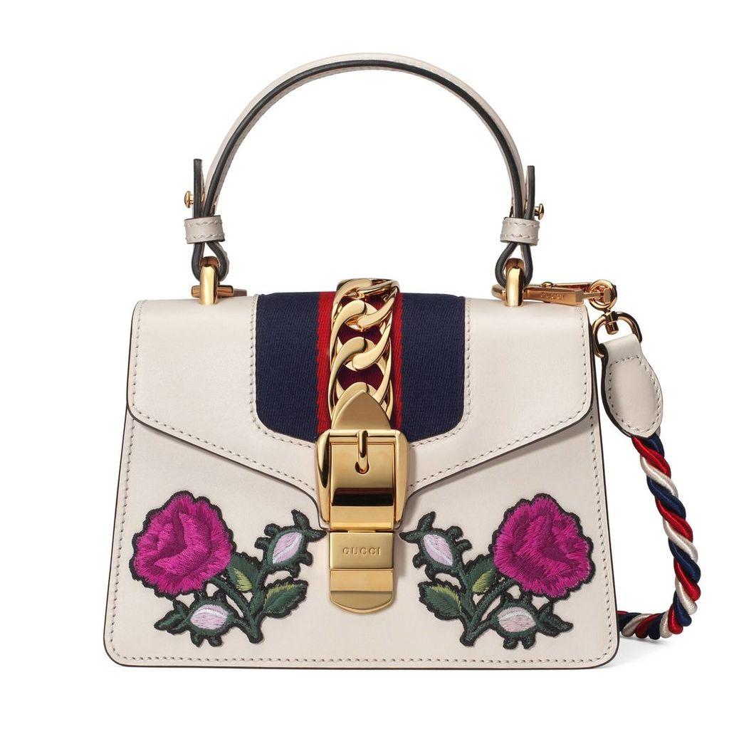 Sylvie embroidered mini bag
