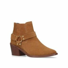 Womens Carvela Kurt Geiger Sheriff Tan Suede Ankle Boots, 3.5 UK