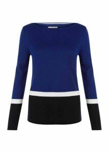Tilly Sweater Navy Multi XS