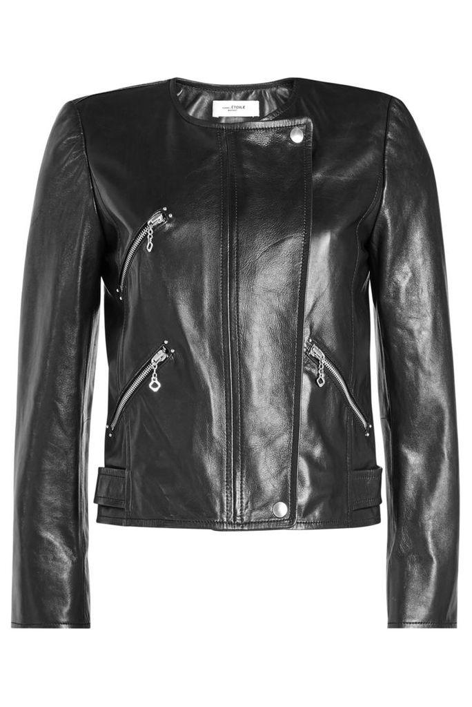 Isabel Marant toile Grinly Leather Jacket