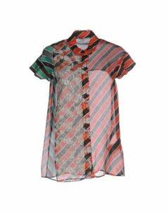 MARCO DE VINCENZO SHIRTS Shirts Women on YOOX.COM