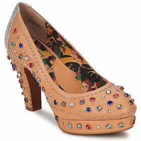Miss L'Fire  SHOWGIRL  women's Court Shoes in Beige