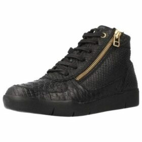 Stonefly  SIDNEY 8  women's Shoes (High-top Trainers) in Black